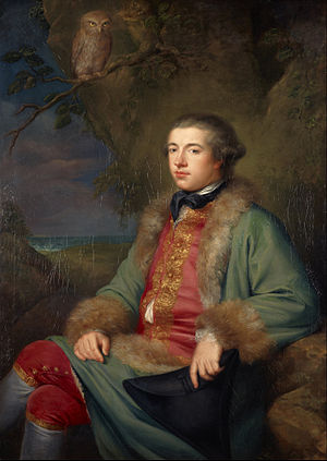 Life of Samuel Johnson - James Boswell at 25, by George Willison
