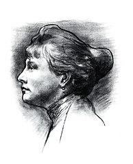 Podobizna ženy z profilu