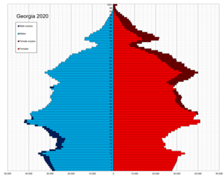 Demographics of Georgia (country)