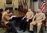 Gerald R. Ford (CVN 78) Michigan Sailors visit namesake's home state 141118-N-PD773-118.jpg