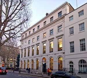 German Historical Institute London - View from Great Russell Street.