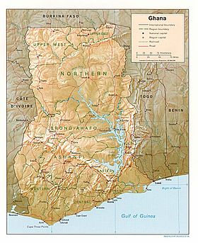 Geography of ghana wikipedia map of ghana gumiabroncs Image collections