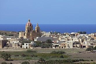 Għasri - Għasri as seen from the Cittadella