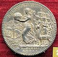 Giampaolo poggini, medaglia di filippo II di spagna con punto, verso con india (e lama).JPG