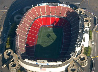 1999 FIFA Women's World Cup - Image: Giants Stadium aerial crop