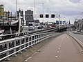 Giessenbrug - Rotterdam - View from the bridge along the A20 motorway towards the southwest.jpg