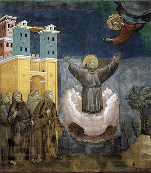 Giotto di Bondone - Legend of St Francis - 12. Ecstasy of St Francis - WGA09133.jpg