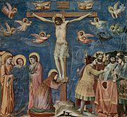 La crocefissione di gesu' di Giotto