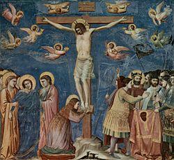 Crocifissione di Gesù, Giotto, Padova, cappella degli Scrovegni.