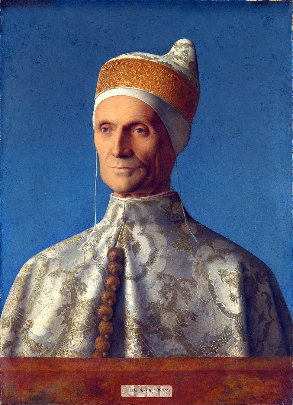 Giovanni Bellini, portrait of Doge Leonardo Loredan B