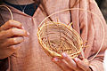 Girl basketweaving - Fort Ross State Historic Park - Jenner, California - Stierch - B.jpg