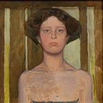 Girl with Necklace Koloman Moser c 1910.jpg
