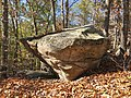 Glacial rock in Wolf Rock Nature Preserve, Mansfield, CT - October 2020.jpg