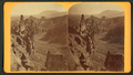 Glen Eyrie from the north, showing Echo Rock, Garden of the Gods, and Cheyenne Mountain, by Gurnsey, B. H. (Byron H.), 1833-1880.png