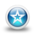 Glossy 3d blue star burst.png