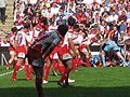 Gloucester Rugby cardiff blues edf cup april 2009.jpg