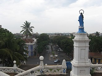 Our Lady of the Immaculate Conception Church, Goa - Image: Goa Church 3