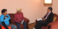 Gobernador realiza primeras audiencias en la provincia.png