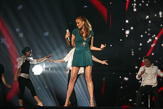 North Macedonia in the Eurovision Song Contest - Image: Goceva ESC2007
