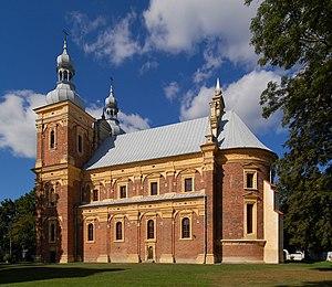 Gołąb, Puławy County - Image: Goląb kościół 2009
