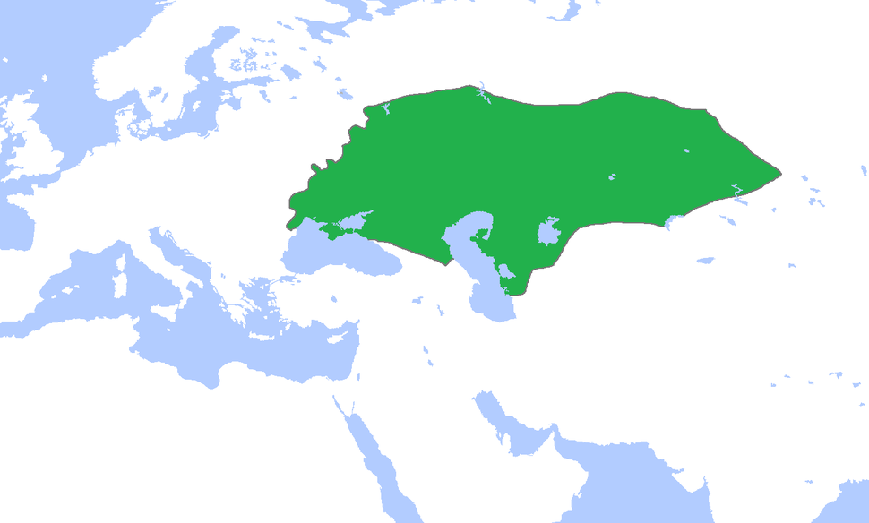 Location of Golden Horde