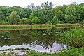 Goloseevsky Park. Orekhovatskie ponds, spring. 01.jpg