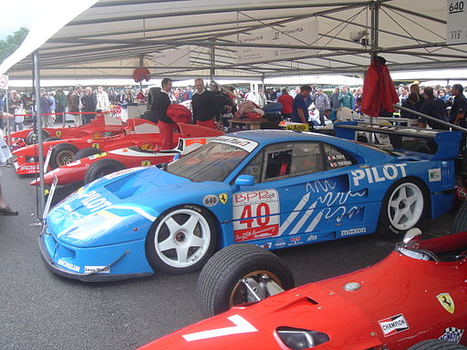 Goodwood2007-025 Ferrari F40 LM (1995)