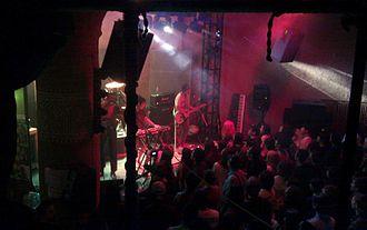 Hongdae, Seoul - An indie band playing at a local club