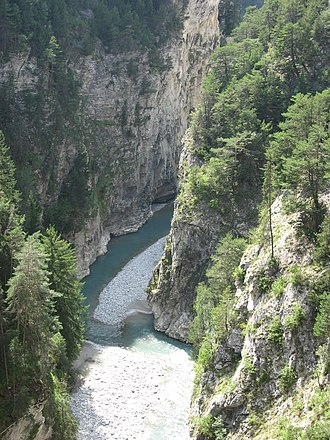 Arc (Savoie) - The Arc near Aussois, Savoie