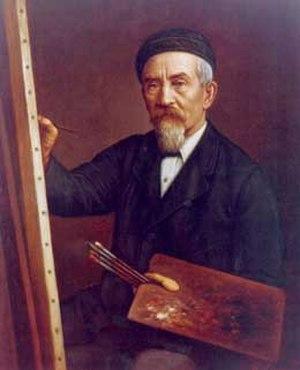 Gottfried Lindauer - Image: Gottfried Bohumir Lindauer self portrait