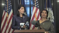 File:Governor Nikki Haley and Ambassador Nirupama Rao of India hold media availability.webm