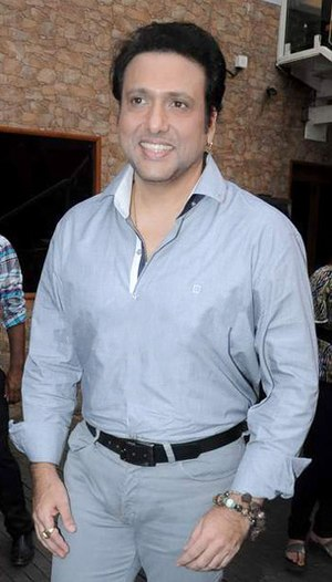 Govinda (actor) - Image: Govinda at Bright Advertising Awards announcement 2013