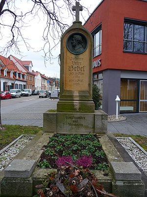 Johann Peter Hebel - Gravesite in Schwetzingen