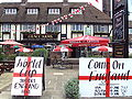 Grace Arms pub, Ellesmere Port during the 2010 World Cup - DSC06347.JPG