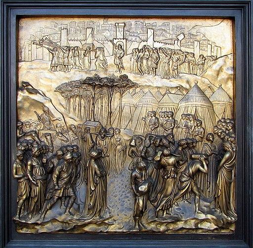 Grace Cathedral-Ghiberti doors detail