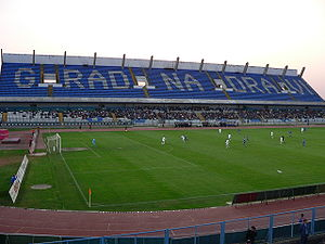 Gradski vrt stadium, Osijek