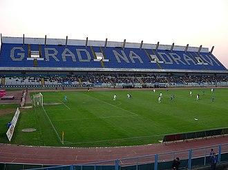 Stadion Gradski vrt - Image: Gradski vrt stadium, Osijek