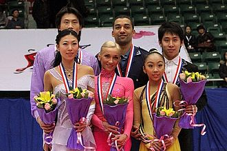 2010–11 Grand Prix of Figure Skating Final - The pairs' medalists