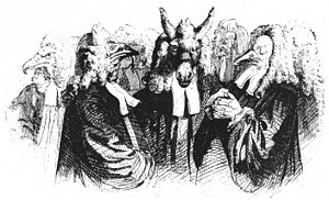 English: Illustration to Gulliver's Travels, b...