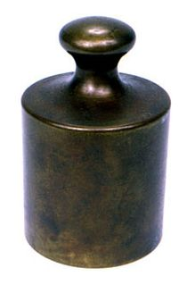 predecessor to the kilogram