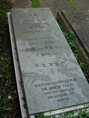 David Nieto - Grave of David Nieto