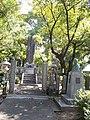 Grave of Den Inoue in Tokuun-ji.jpg
