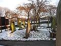 Gravestones in St Mary's church, Heworth - geograph.org.uk - 1633239.jpg