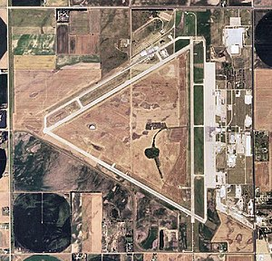 Great Bend Army Air Field - 2006 USGS photo of the former Great Bend Army Air Field