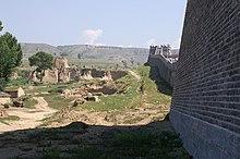 Ĉina muro en Interna Mongolia.JPG