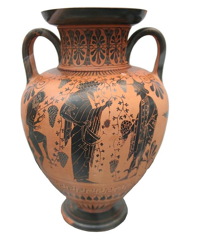 Filegreek Vase Dionysos Attica 520 Bcg Wikimedia Commons
