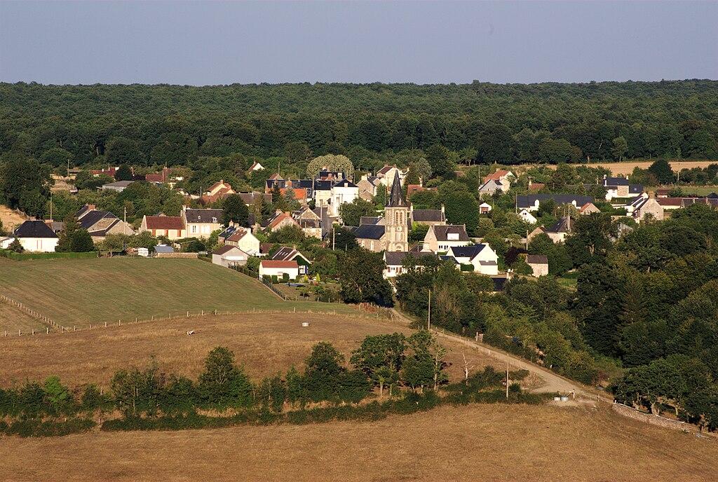 Le village de Grimbosq.