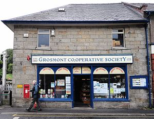 British co-operative movement - The Grosmont Co-operative Society remains an independent co-op store.