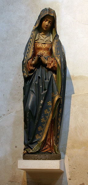 ... lignee avorio iconic medieval statue lignee detail maria forward gro