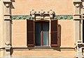 Grosseto, edificio del demanio, in stile liberty 03 finestra.jpg